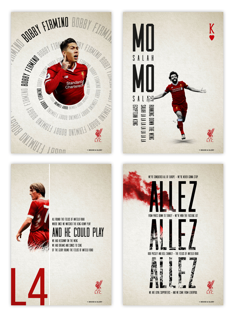 Liverpool FC Song Lyrics Artwork