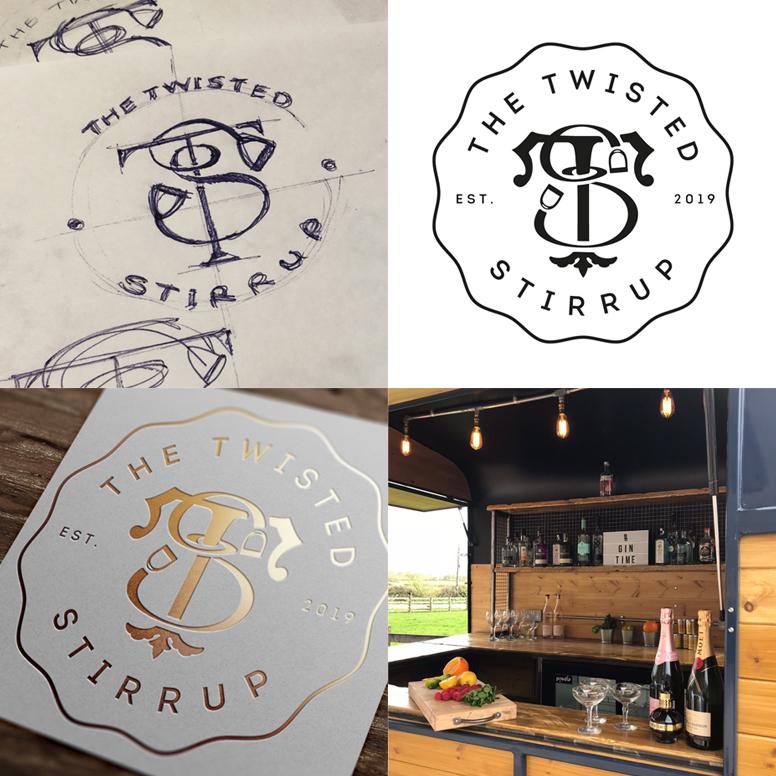 Mobile Bar Logo Design