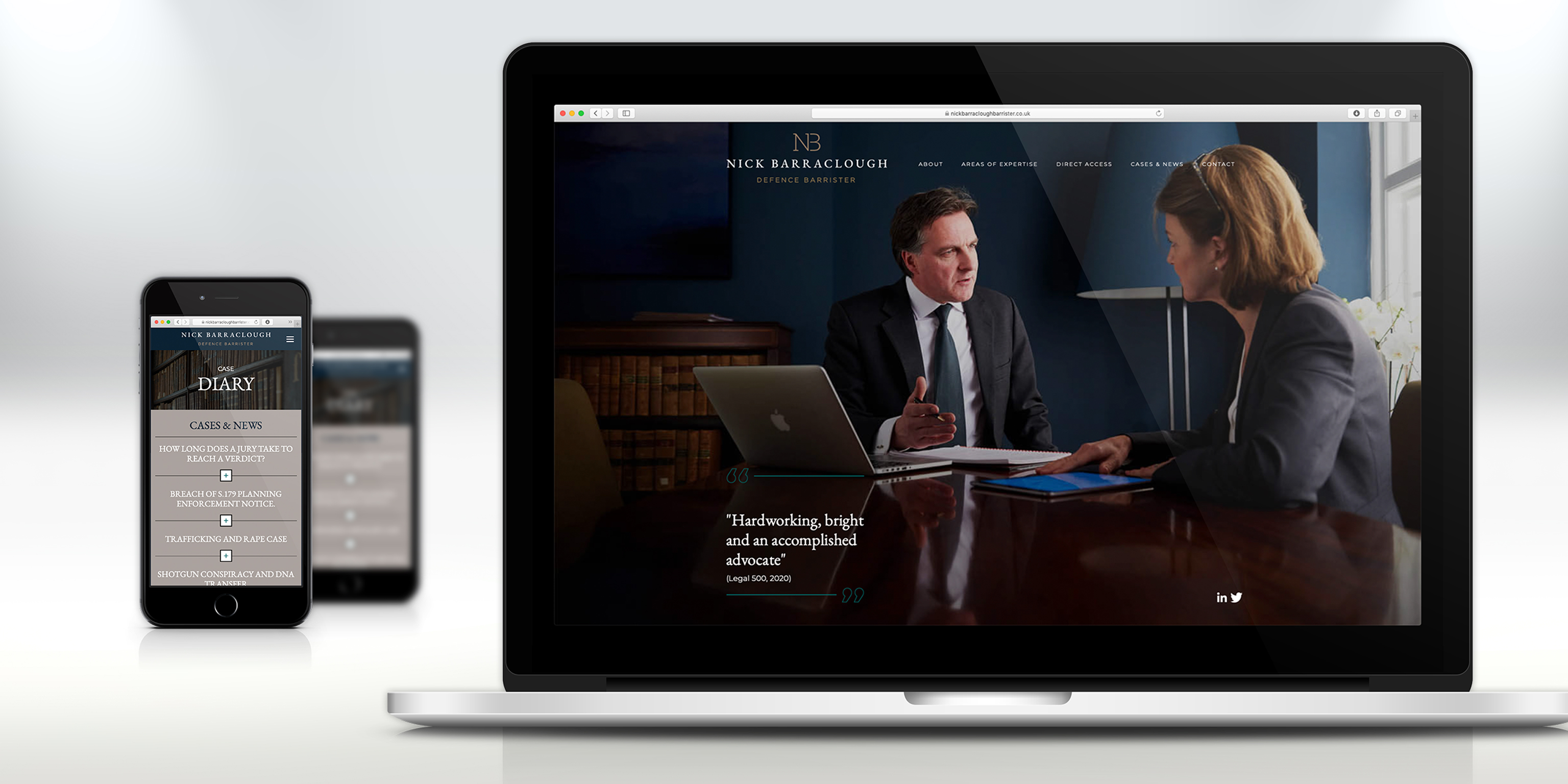 Barrister Website Design
