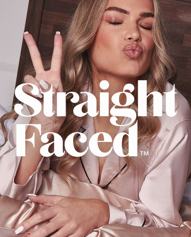 straight-faced